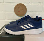 ADIDAS Boys TENSAUR Running Sneakers Gym Tennis Shoes BLUE WHITE and RED NEW