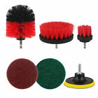 1/4 Inch Car Drill Wheel Brushes Sponges Polishing Set Auto Cleaning Tool Kit