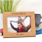 PERSONALISED Love You DADDY DAD GRANDAD Birthday Photo Frame Gifts for Daddy
