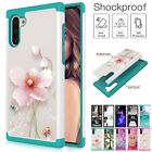 For Samsung Galaxy A10e A20 A30 Hybrid Rubber Case Shockproof Pattern Pc Cover