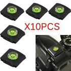 10pcs Hot Shoe Cover Cap Bubble Spirit Level For Canon Dslr Pen. Camera S6p5