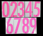 2016 2017 OFFICIAL BARCELONA PINK AWAY NUMBERS 255mm = PLAYER SIZESpanish Clubs - 112978
