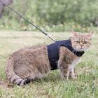 Savannah Cat Harness with Leash Adjustable Soft Mesh Best Walking Black F1 F2