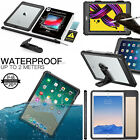 IP68 Waterproof Shockproof Full Case Cover for iPad 9.7 Mini 5 Pro 11 Air 3 2 1