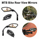 Hafny MTB Bike Handlebar Rear View Rearview Mirror Bicycle 360° Rotate Foldable