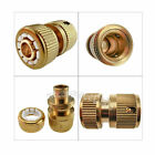 """Garden Lawn Car Water Hose Pipe Fitting Tap Adaptor Connector 1/2"""" 3/"""
