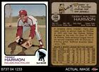 1973 Topps #166 Terry Harmon Phillies 6 - EX/MTBaseball Cards - 213