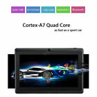 """7"""" Inch Tablet Pc Android Quad Core 16gb/8gb Hd Wifi Dual Camera Wifi Gift"""