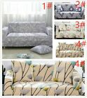 1/2/3/ Sofa Covers Couch Slipcover Stretch Elastic Fabric Settee Protector US