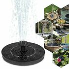New Solar Power Water Fountain Pump Solar Fontein Bird Fountain Water Floating