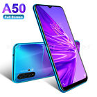 """6.6"""" Large Screen Android 9.0 Unlocked Smartphone Cell Phone Dual Sim Phablet 3g"""