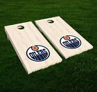 Edmonton Oilers Cornhole Decal Vinyl NHL Hockey Car Wall Set of 2 GL117 $34.95 USD on eBay