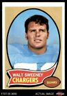 1970 Topps #173 Walt Sweeney Chargers Syracuse 4 - VG/EX $1.0 USD on eBay