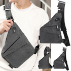 Waterproof Personal Shoulder Pocket Bag Business Anti-theft Package Chest Pack^^