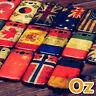Stone-washed National Flag Case for Oukitel WP6, Painted Cover Retro