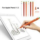 Silicone Case iPad Stylus Nib Cover Protective Sleeve Wrap For Apple Pencil 1 2