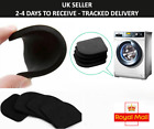 4PCS Washing Machine Shock Mute Pads Refrigerator Non-slip Anti Vibration Mat UK