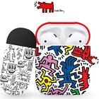 Genuine Keith Haring AirPods Hard Case 1st 2nd Generation made in Korea