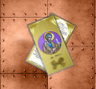Saint St Peter the Apostle Catholic Icon Holy Prayer Card.