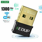 EDUP 150/650/1300Mbps Mini USB WiFi Adapter Wireless Network Card for Desktop