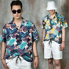 NewStylish Men Tropical pattern summer shirts