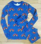 NWT Hanna Andersson ALL YOU NEED IS LOVE RAINBOW PAJAMAS 120 6 7 and 140 10