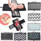 Changing Mat Nappy Pad Home Away Storage Folding Waterproof Travel Baby Diaper