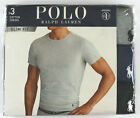Polo Ralph Lauren Classic/Slim fit crew/V-neck T shirt 3pack wicking