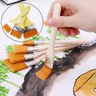 Wooden Handle Paint Brush Watercolor Brushes For Oil Painting Y8f1