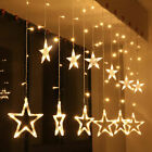 138 LED Fairy Garden Lights String Outdoor Party Wedding Xmas UK Mains Plug In
