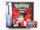 Pokemon Adventures Red Chapter Game / Case Gameboy Advance GBA Anime Manga (USA)