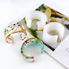 Open Cuff Bangle Silicone Mold Resin Casting Bracelet Jewelry Making DIY Tool