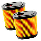 """2-Pack HQRP Air Filter Works with Toro 20000 Series 22"""" Recycler Lawn Mowers"""