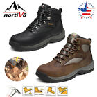 NORTIV 8 Men's  Steel Toe Boots Work Safety Protection Waterproof  Construction