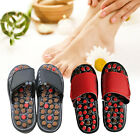 Unisex Reflexology Sandals Foot Massage Slipper Acupressure Therapy Shoes USA