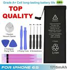 1715mAh High Capacity Replacement Battery iPhone 6S Adhesive Tape 5Year Warranty