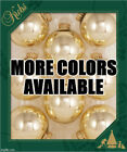 Assorted Colors! Christmas By Krebs Glass Balls Ornaments Decorations Made In Us