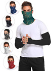 Multi-Pack Cooling Neck Gaiter with Ear Loops 12+ Ways To Wears, Cools when Wet