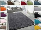 Small X Large Thick Soft Modern Rugs Non Shed Shaggy Rug Round Runner Thick Pile