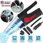 Cordless Car Vacuum Cleaner Wet Dry Handheld Duster Low Noise w/Reusable Filter