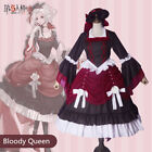 Identity V Bloody Queen Mary Cosplay Costumes Women Dress Hat Halloween Outfit