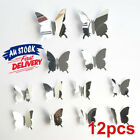 Art Decal Butterfly Decor Self Adhesive  Mirror Bedroom Home Wall Sticker