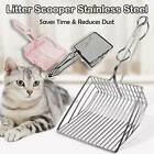 Cat Litter Scoop Metal Waste Scooper Poop Pet Sand Shovel Cleaning Tools ~