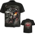 SPIRAL DIRECT DEATH ON WHEELS T SHIRT Small V8 Gothic Printed Hot Rod SIZE SMALL