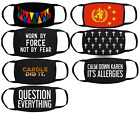 Внешний вид - Reusable Mask Choose Design Anti Tyranny Government Muzzle Useless Question