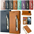 For Iphone 12 11 Pro Max Xs Xr 8 7 Pu Leather Magnet Card Slot Stand Case Cover