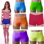 NEON TUTU SHORTS HOT PANTS 80'S FANCY DRESS PARTY PLAIN DANCE SPORTS size 6-16