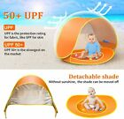 Baby Beach Tent Pop Up Portable Shade Pool UPF 50+ Summer Sun Shelters Shade