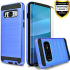 For Samsung Galaxy S8 /S8 Plus / S8 Active Case Cover + Tempered Glass Protector
