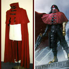 New Vincent Valentine cosplay Red Cloak Cape Final Fantasy VII cosplay costume